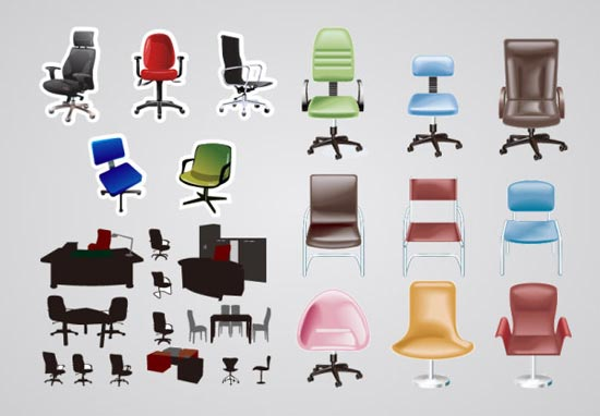 Six Diffe Types Of Office Chairs